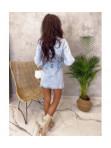 Sukienka mini jeansowa Elena 04 - photo #5
