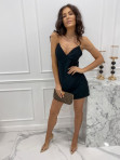 Sukienka mini na łańcuszku czarna Ingrid 01 - photo #4