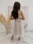 Sukienka midi koronkowa biała Elena 17 - photo #4