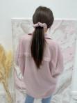Sukienka mini koszulowa brudny róż Arena 07 - photo #4