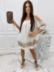 Sukienka narzutka koronkowa z cekinami Edna 24 - photo #1