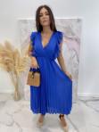 Sukienka maxi z żabotem Chabrowa Liva 03 - photo #0