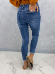 Spodnie ciemny jeans z dziurami Nomi 14 - photo #3