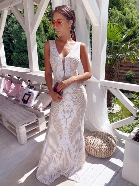 Sukienki cekinowe